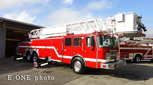 new fire truck for Aurora IL FD