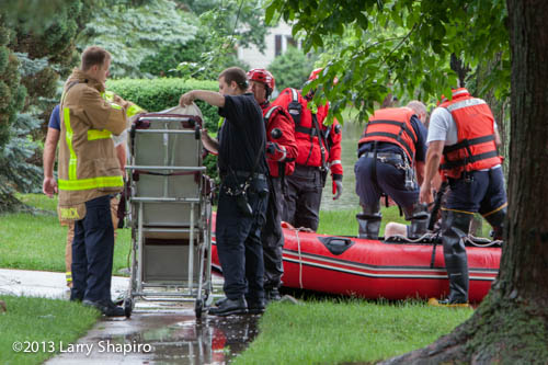 Buffalo Grove Fire Department water rescues