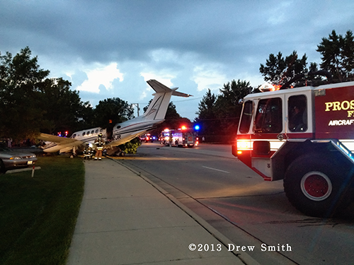plane crash in Wheeling
