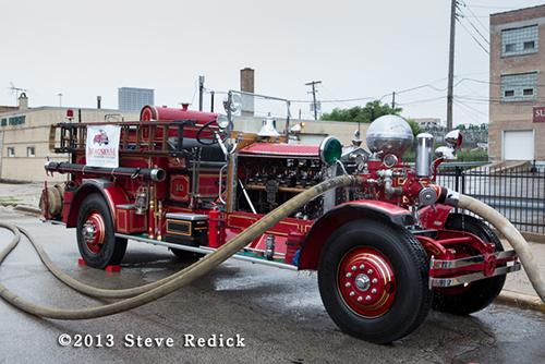 Chicago FD Ahrens Fox fire engine