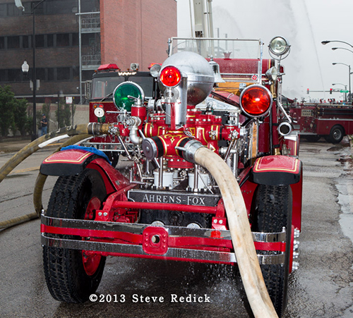 Chicago FD Ahrens Fox fire engine