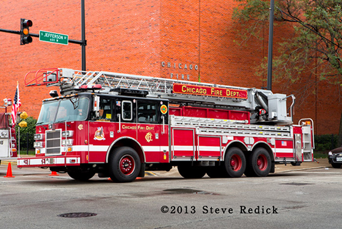 Chicago Fire Department fire truck