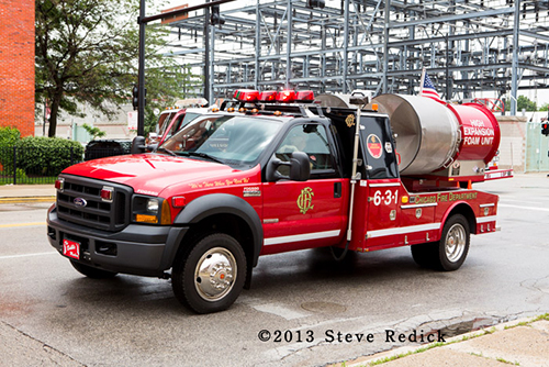 Chicago Fire Department hi-X foam unit
