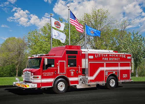 new fire engine for Little Rock-Fox FPD