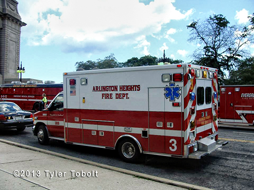 Arlington Heights FD ambulance