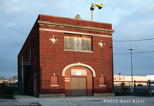 Old Chicago fire station