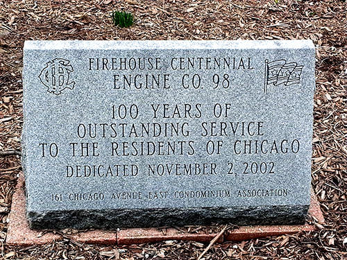 Chicago FD Engine 98's house