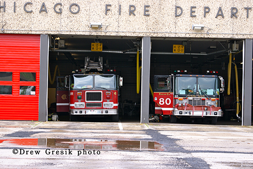 Chicago Fire Department Engine 80