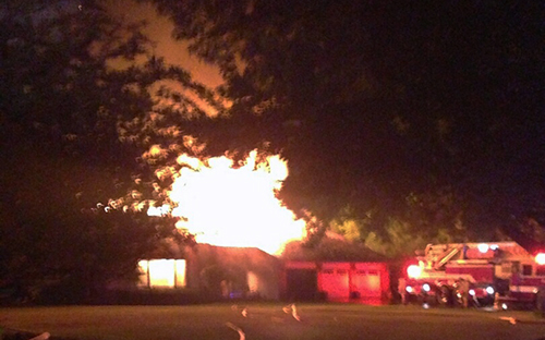 house fire at 11 Rosewood Drive in Hawthorn Woods
