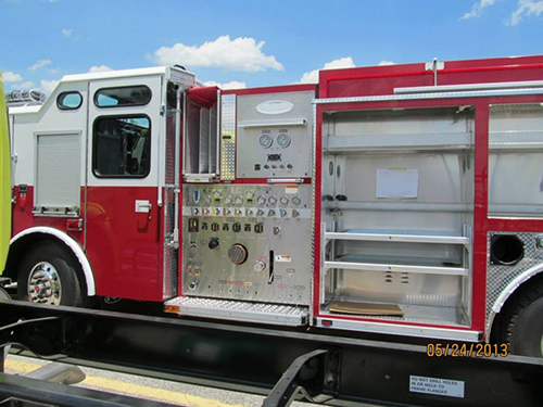 new fire engine for Joliet