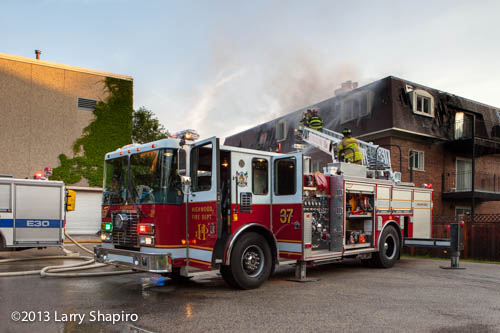 2 Alarm Building Fire In Northbrook 7 1 13 More