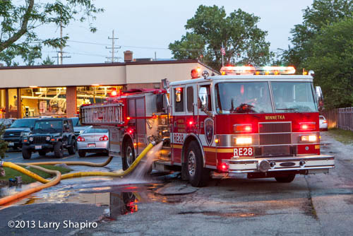 Winnetka fire department for Northbrook building department