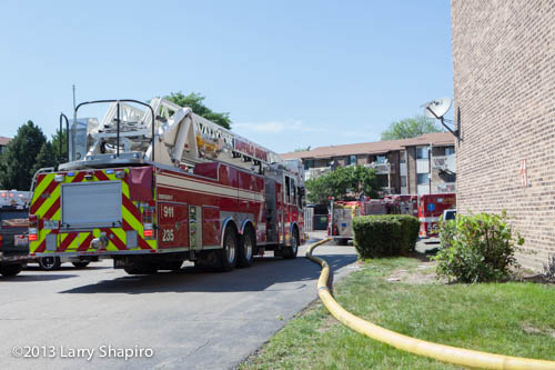fire at 2316 Nichols Road Long Grove Fire Deistrict