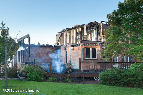 Inverness house destroyed by fire