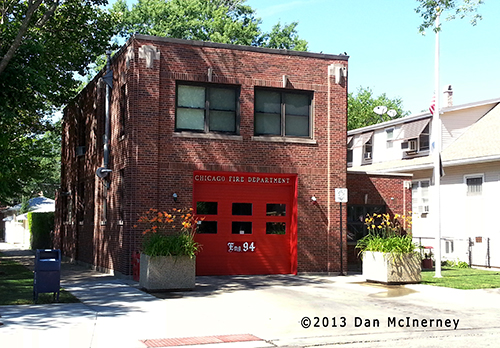 Chicago firehouse photo