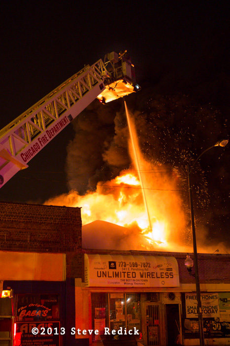 Chicago 3-11 Alarm fire 7-1-13