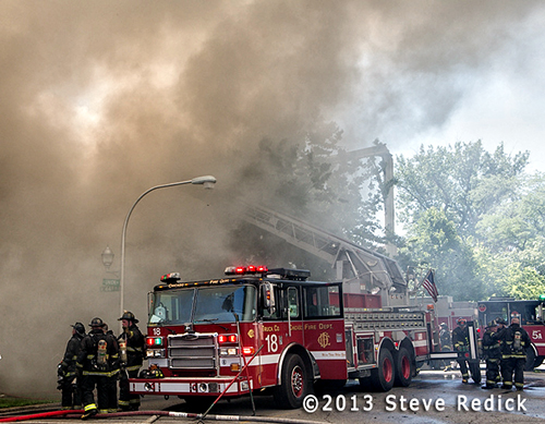3-11 Alarm fire on South Union in Chicago
