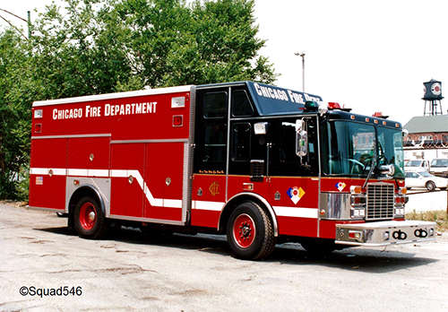 Chicago FIre Department apparatus history