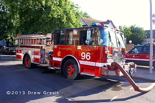 Chicago Fire Department Engine 96