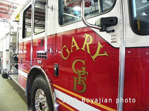 Gary Fire Department emblem