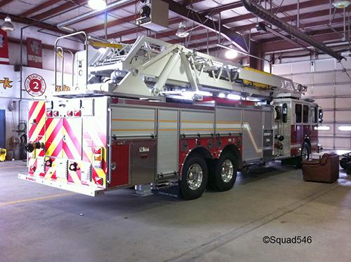 Gary Fire Department fire truck