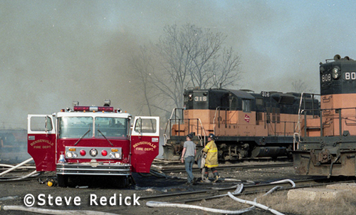 Bensenville Fire Department history