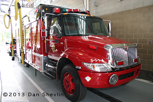 Chicago Fire Department Engine 16's house