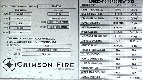 Crimson Fire law tag