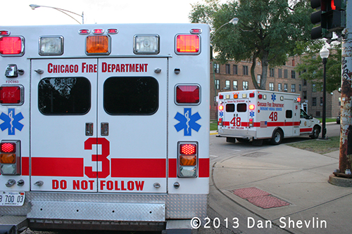 Chicago Fire Department ambulances