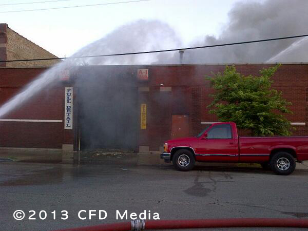 Chicago Fire Department 2-11 Alarm  Fire 8-3-13
