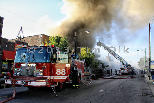 Chicago Fire Department 2-11 Alarm Fire