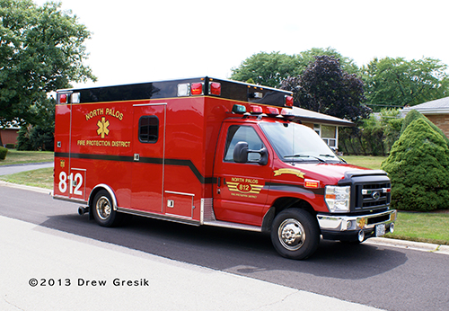 North Palos FPD ambulance