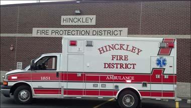 Hinckley FPD new ambulance