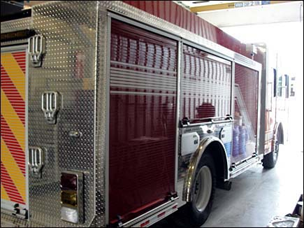 new fire engine for Dekalb FD