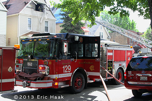 Chicago Fire Department Engine 129