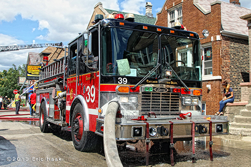 Chicago Fire Department Engine 39