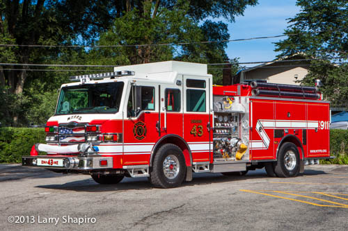 McHenry Township Fire Protection District apparatus