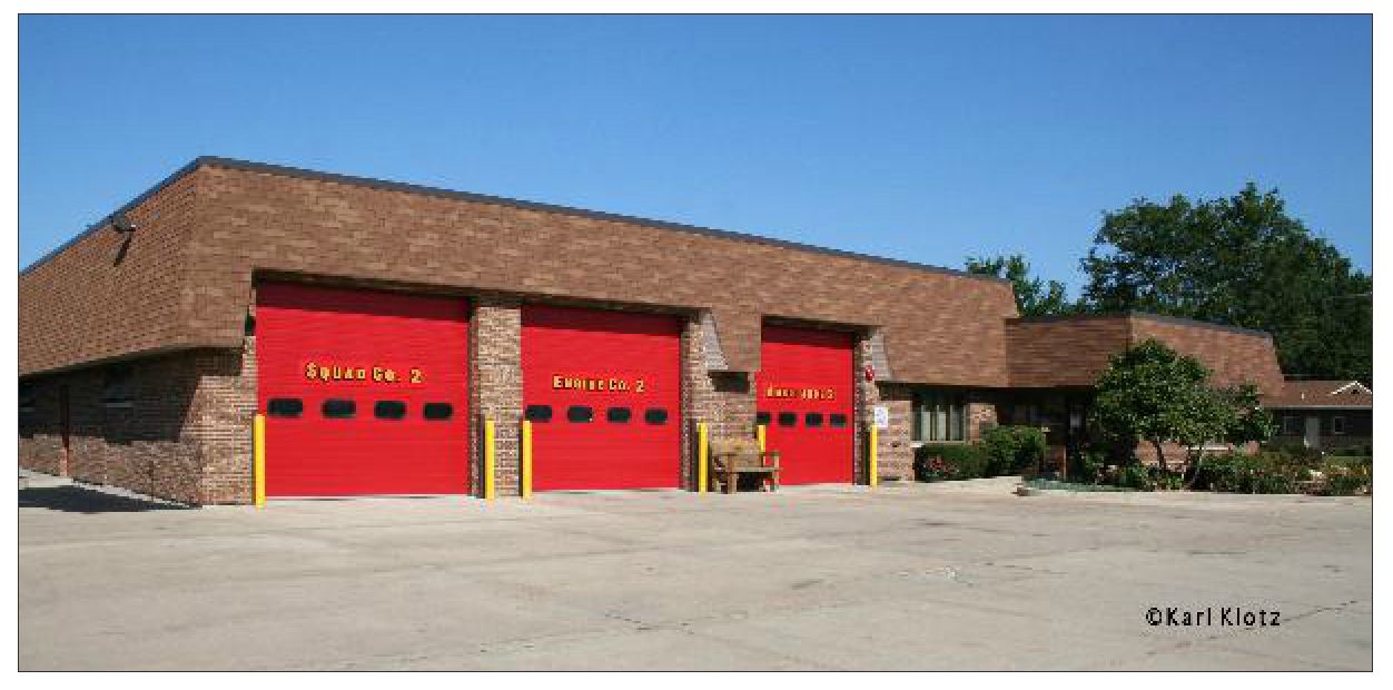 Orland Fire Protection District fire station