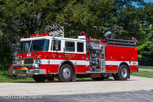 Wonder Lake Fire Protection District apparatus