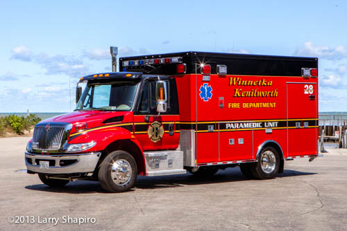 Winnetka Fire Department Ambulance 28
