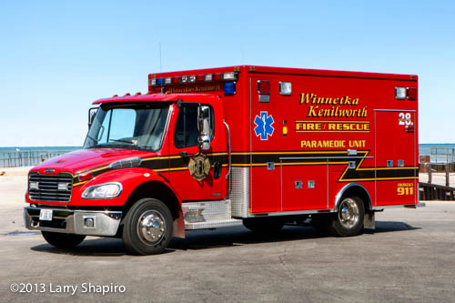 Winnetka Fire Department Ambulance 28R