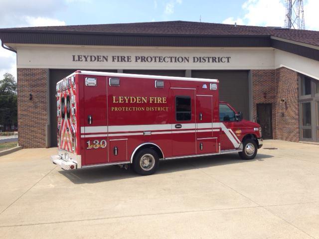 Leyden Township FPD ambulance