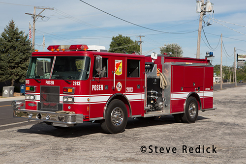 Posen Fire Department apparatus