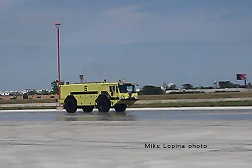 Lockport Fire Department at O'Hare airport