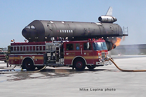 Orland Fire District at O'Hare airport