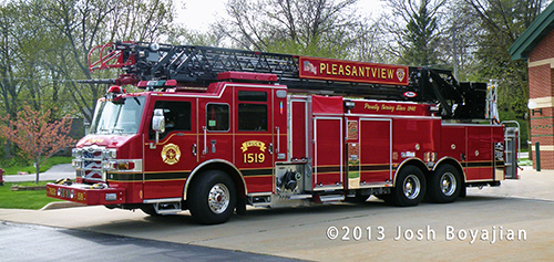 Pleasantview Fire Protection District apparatus