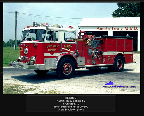 Austin-Tracy FIre Department fire engine