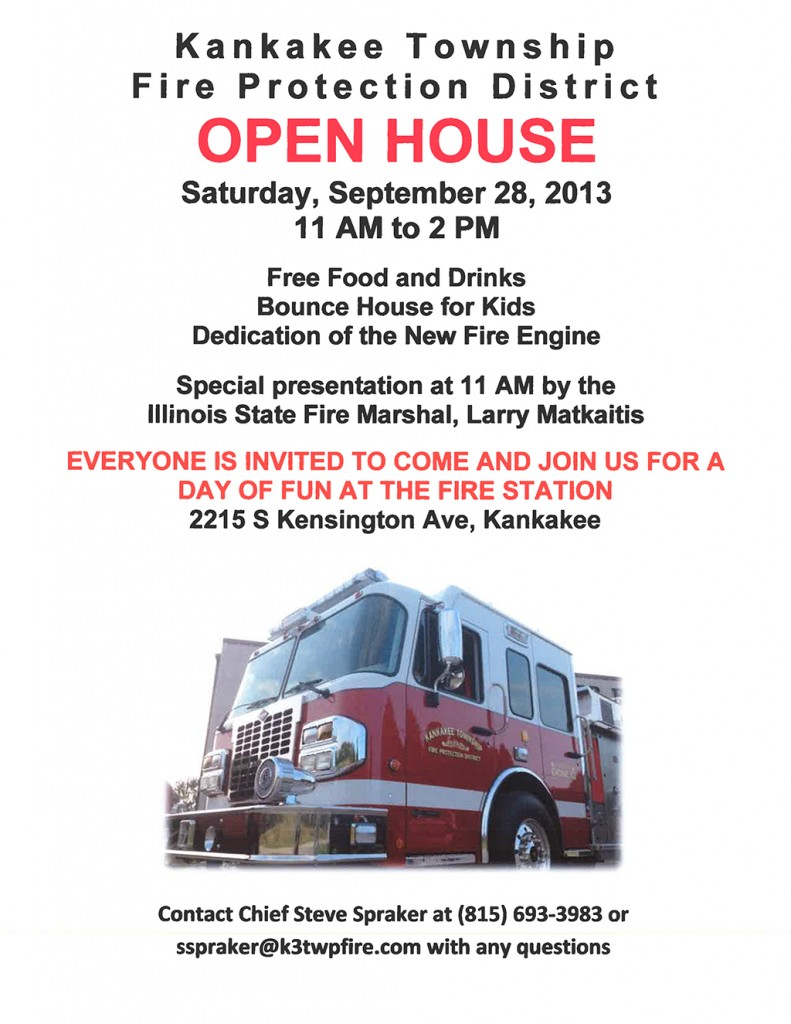 kankakee Township FPD open house