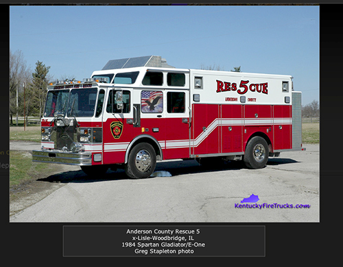 Anderson County Rescue 5