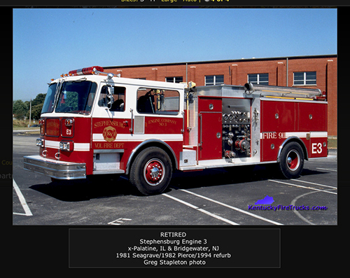 Stephensburg FIre Department
